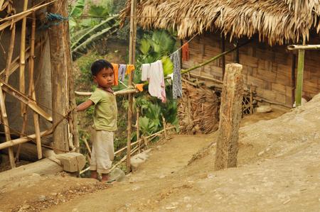 documentary: Nagaland, India - March 2012:  in Nagaland, India. Documentary editorial. Editorial