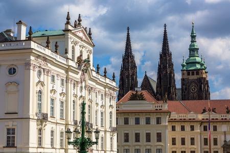 Castle Square in Prague, Czech Republic