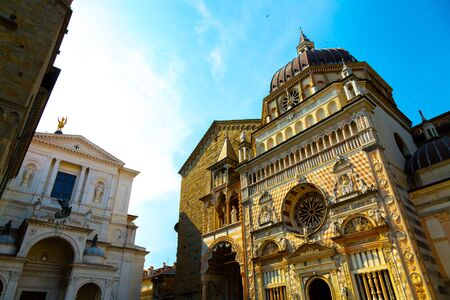 Basilica di Santa Maria Maggiore, Bergamo, Italy Reklamní fotografie