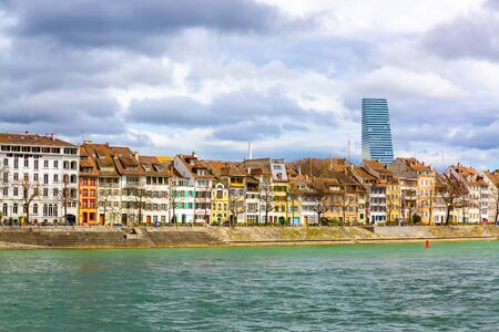 Housed over the Rhine river in city of Basel, Switzerland,