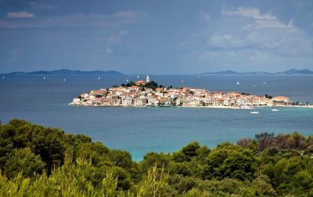 Primosten mediterranean town in Croatia