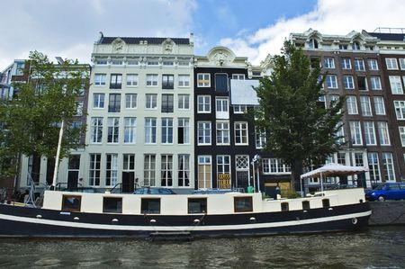 tenement: Tenement house in Amsterdam