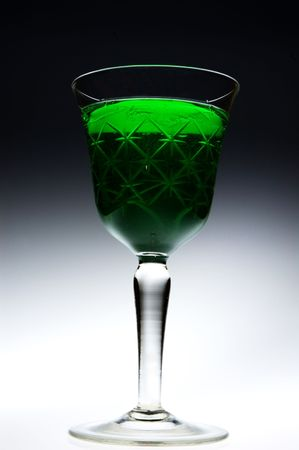 The Green Fairy Stock Photo - 2563211