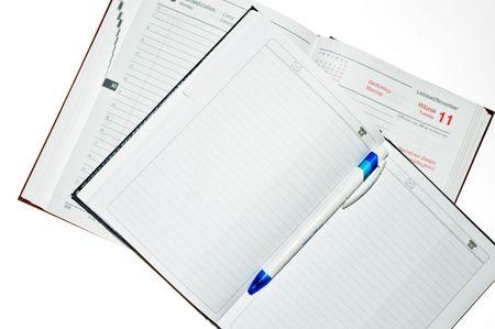 addresses: Notebook Stock Photo