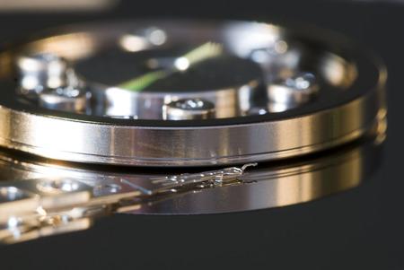 hard drive: Inside a hard drive