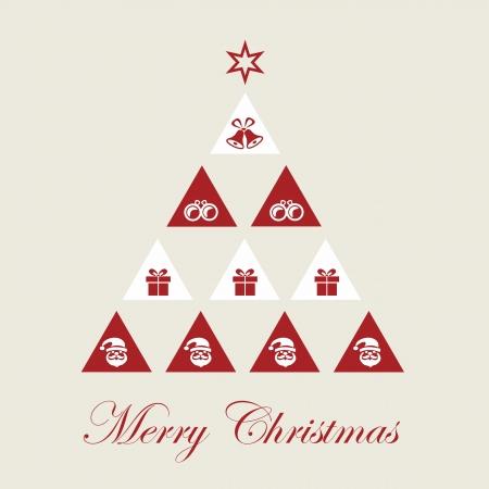 Christmas tree, pyramid Stock Vector - 24119400