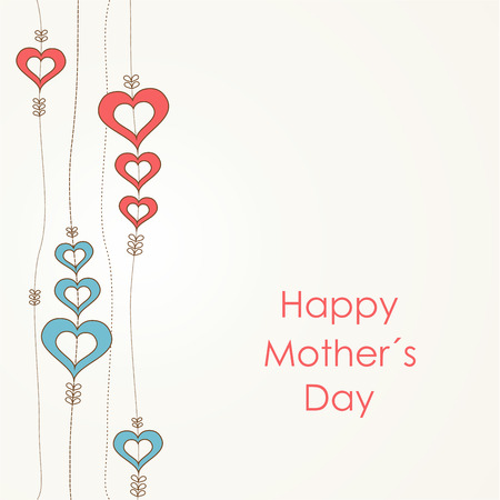 Happy Mother's Day retro background. Stock Vector - 25967254