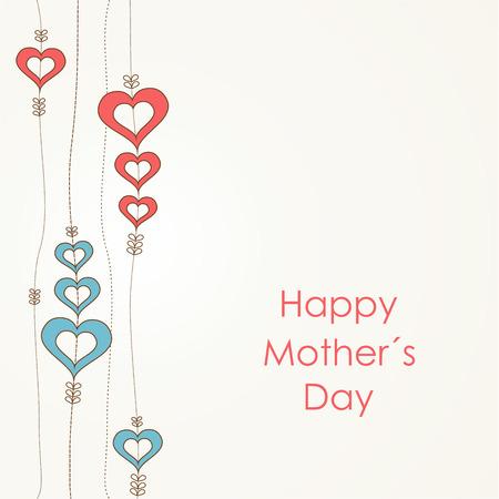 Happy Mother's Day retro background. Stock Vector - 25967254