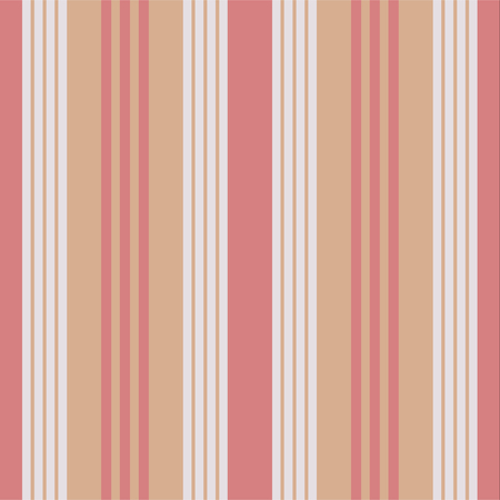 Vertical stripes seamless vector pattern. Retro style texture. Ilustrace