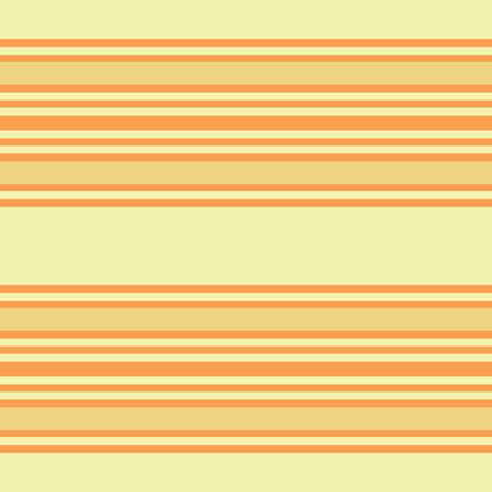 Retro Orange Colored Seamless Pattern with Horizontal Stripes  イラスト・ベクター素材