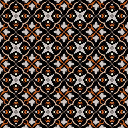 Dark royal pattern. The Seamless vector background