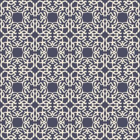 Pattern with royal symbols upside down. Seamless vector background. Floral ornament. Abstract Tiles. Geometric texture. Repeating background. Ilustrace