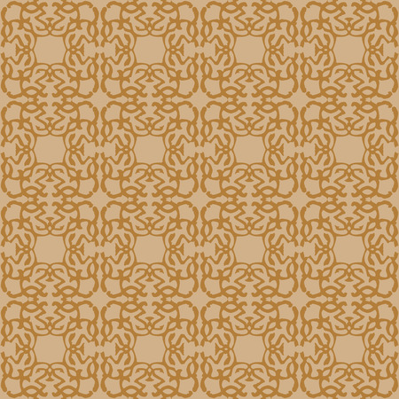 Pattern with royal symbols upside down. Seamless vector background. Floral ornament. Abstract Tiles. Geometric texture. Repeating background. Illustration