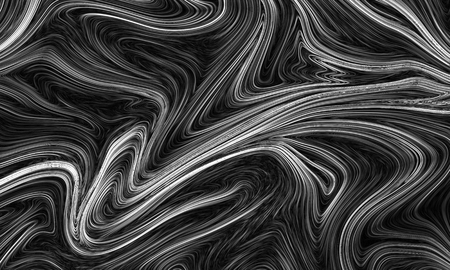 Digital gray abstract background with liquify flow