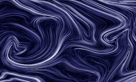Digital blue abstract background with liquify flow Reklamní fotografie