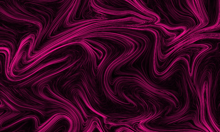 Digital plastic pink abstract background with liquify flow Reklamní fotografie
