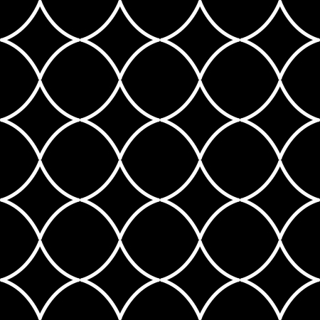 Abstract Circular Tiles Seamless Vector Pattern. Geometric texture. Repeating background. Reklamní fotografie