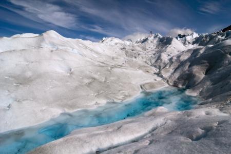 serac: Trekking on Perito Moreno Glacier, Los Glaciares National Park, El Calafate, Patagonia, Argentina