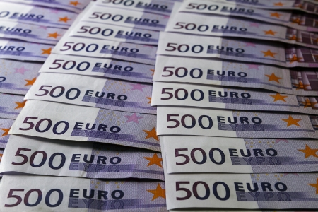 eur: Big amount of Five hundred notes of European Union Currency