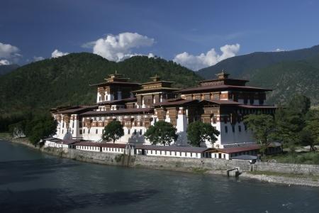 Punakha Buddhist Dzong  Monastery , Bhutan