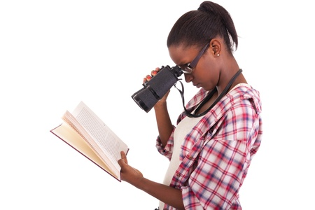 College student young African American Stock Photo - 18068672