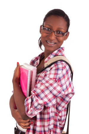 College student young African American Stock Photo