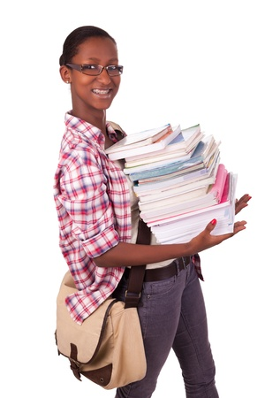 College student young African American Stock Photo - 18068674