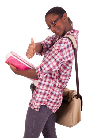 College student young African American Stock Photo - 18231346