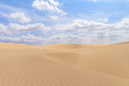 cape verde: Sand desert in Boavista, Cape Verde - Cabo Verde Stock Photo