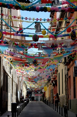 festoons: folkloristic feast at Madrid