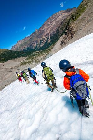 mountaineering: mountaineering school for children