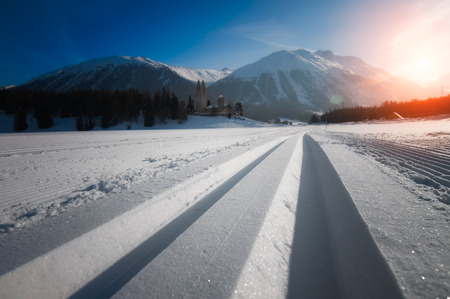 Nordic ski