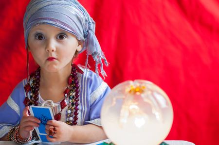 diviner: particular of fortune teller Stock Photo