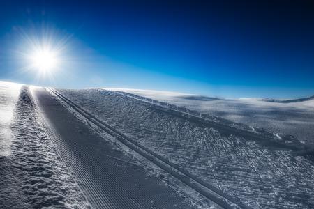 nordic ski: Nordic ski slope