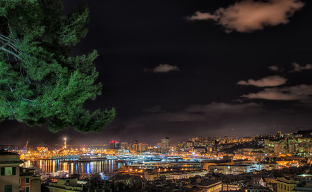 genoa: Genoa by night