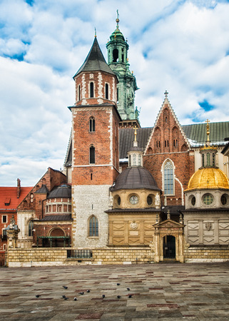 cracow: Wawel castle in Cracow