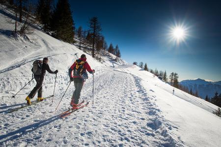 Randonnee ski trails