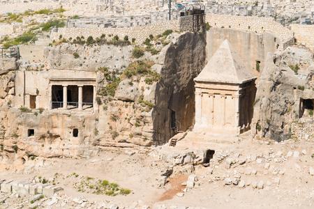 tumbas: Tumbas de Absal�n y Zacar�as Jerusal�n