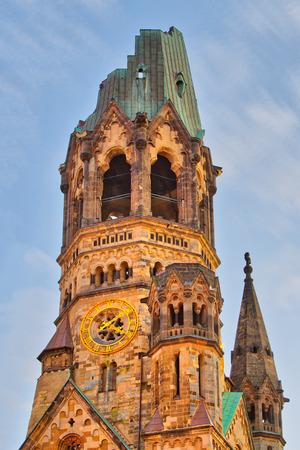 Detail of the Kaiser-Wilhelm Memorial Church