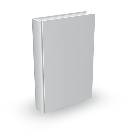 best guide: High-res blank book. ideal to create your own compositions for Stock Photo