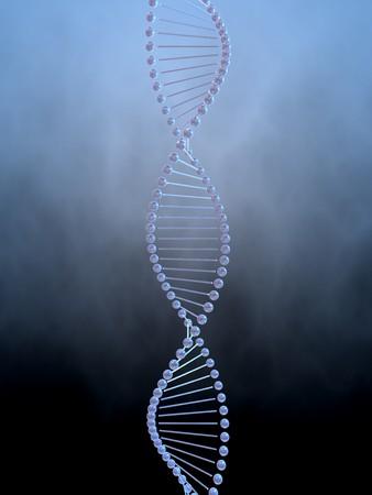 Imagen 3D del ADN Foto de archivo - 3979447