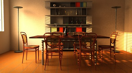 Dining room Stock Photo - 4409244