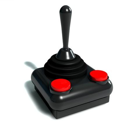 compute: Isolated 3d Joystick