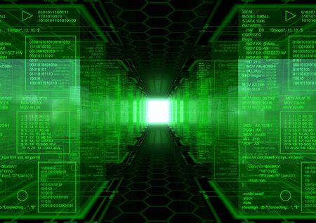 Hacker World Revolution Stockfoto