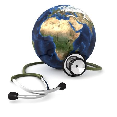 estetoscopio: advertencia global