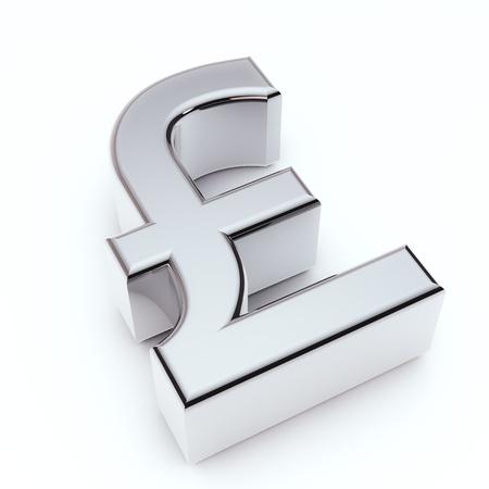 sterlina: il rendering di un simbolo Sterlin