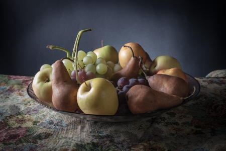 Still life with fruit photo
