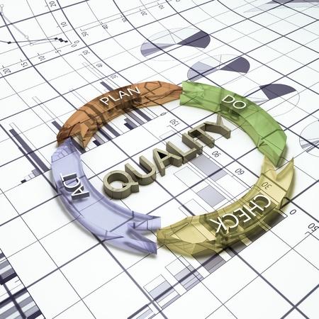 business plan symbol Standard-Bild