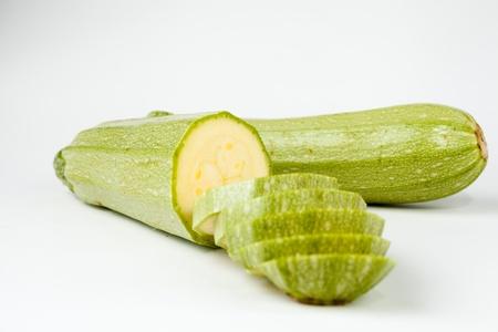 Gesneden Zucchini Stockfoto