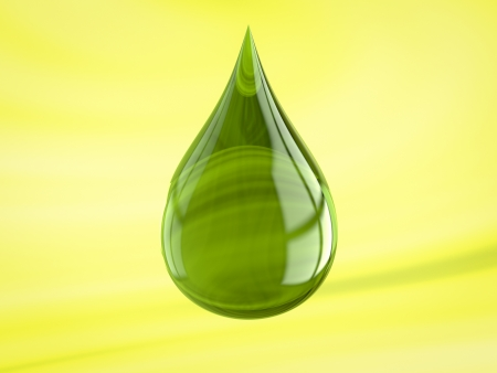 Shiny drop useful for oil or detergent advertising photo